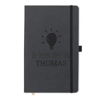 Notizbuch mit Namen