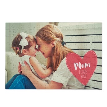 Personalised jigsaw puzzle - Mother's Day - 120 pcs