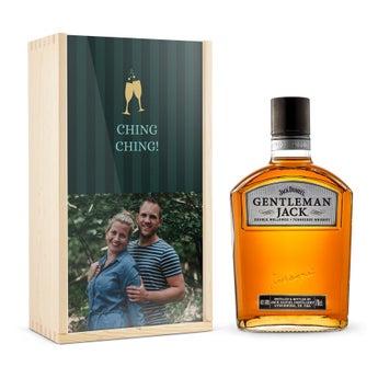 Jack Daniels Gentleman Jack Bourbon - I trykt etui