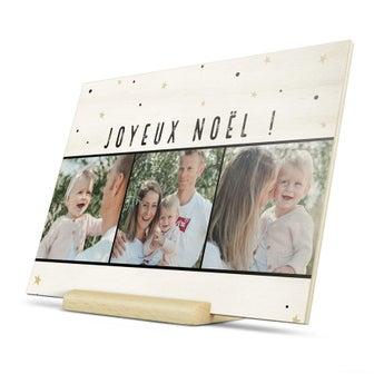 Cartes de Noël en bois