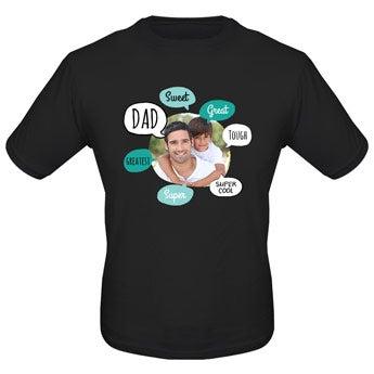 Fars dag T-shirt - Vit - S