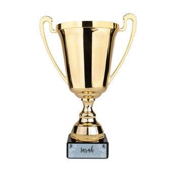 Trophée personnalisé - Or