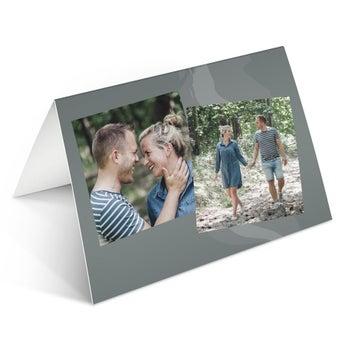 Cartões comemorativos com foto
