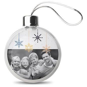 Boules de Noël personnalisées