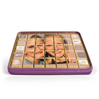Konzerv csokoládé képe