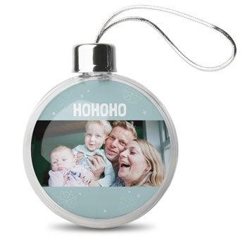 Weihnachtskugel - transparent