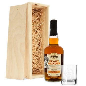 Coffret whisky personnalisé