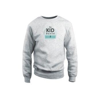 Camisola - Kids - Cinza