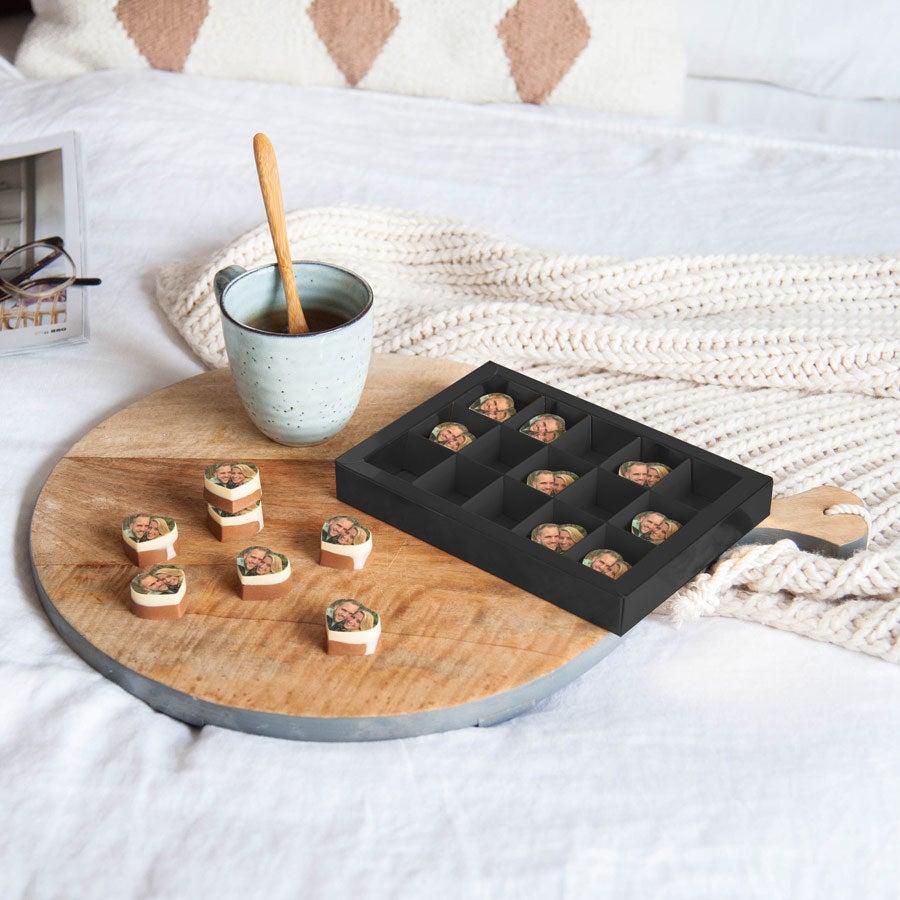 Chocolates personalizados Valentines (coração)