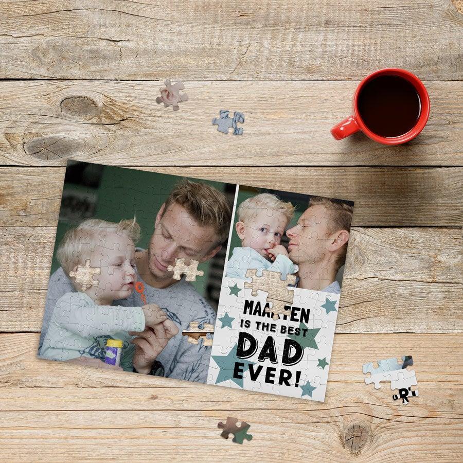Quebra-cabeça - 120 peças - Dia dos Pais