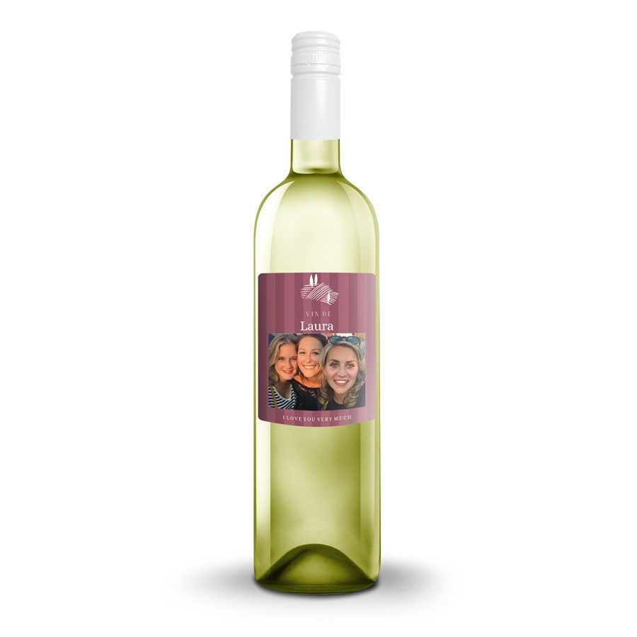 Wine with personalised label - Riondo Pinot Grigio