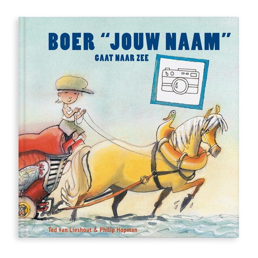 Boer Boris gaat naar zee - XXL - Hardcover