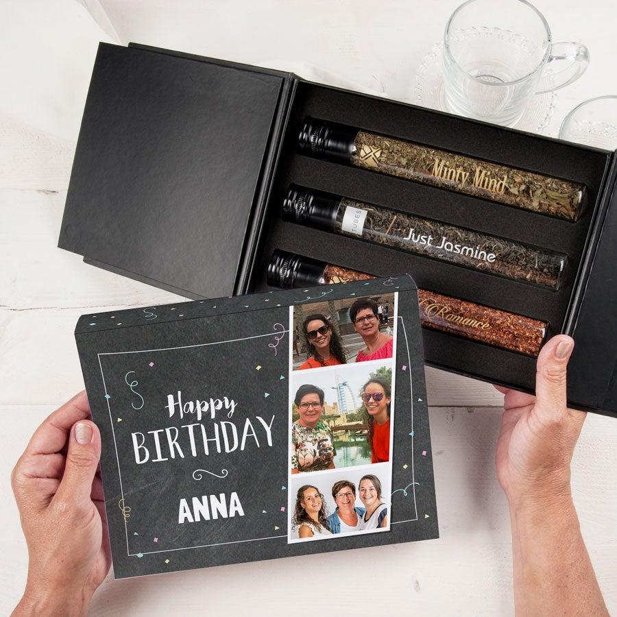 Rúrky darčeková krabička - Čaj