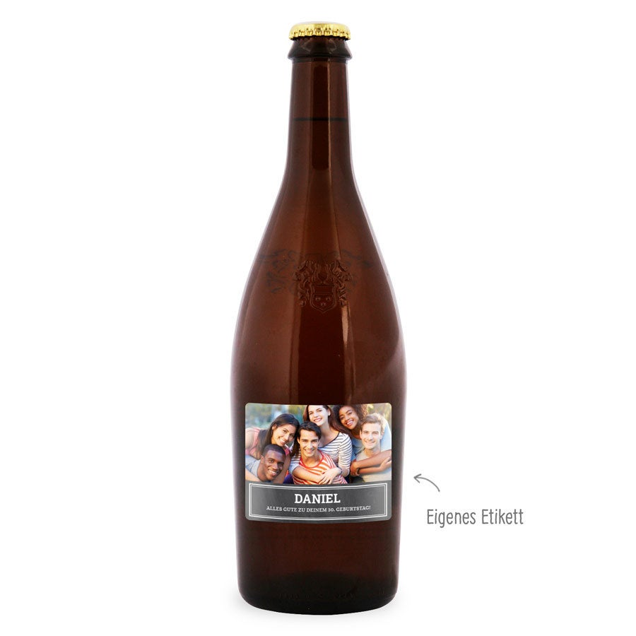 Bier mit eigenem Etikett – Duvel Moortgat