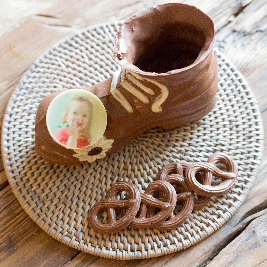 Soulier en chocolat