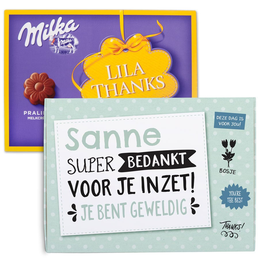 Chocobox - I love Milka! - Dag van de Zorg