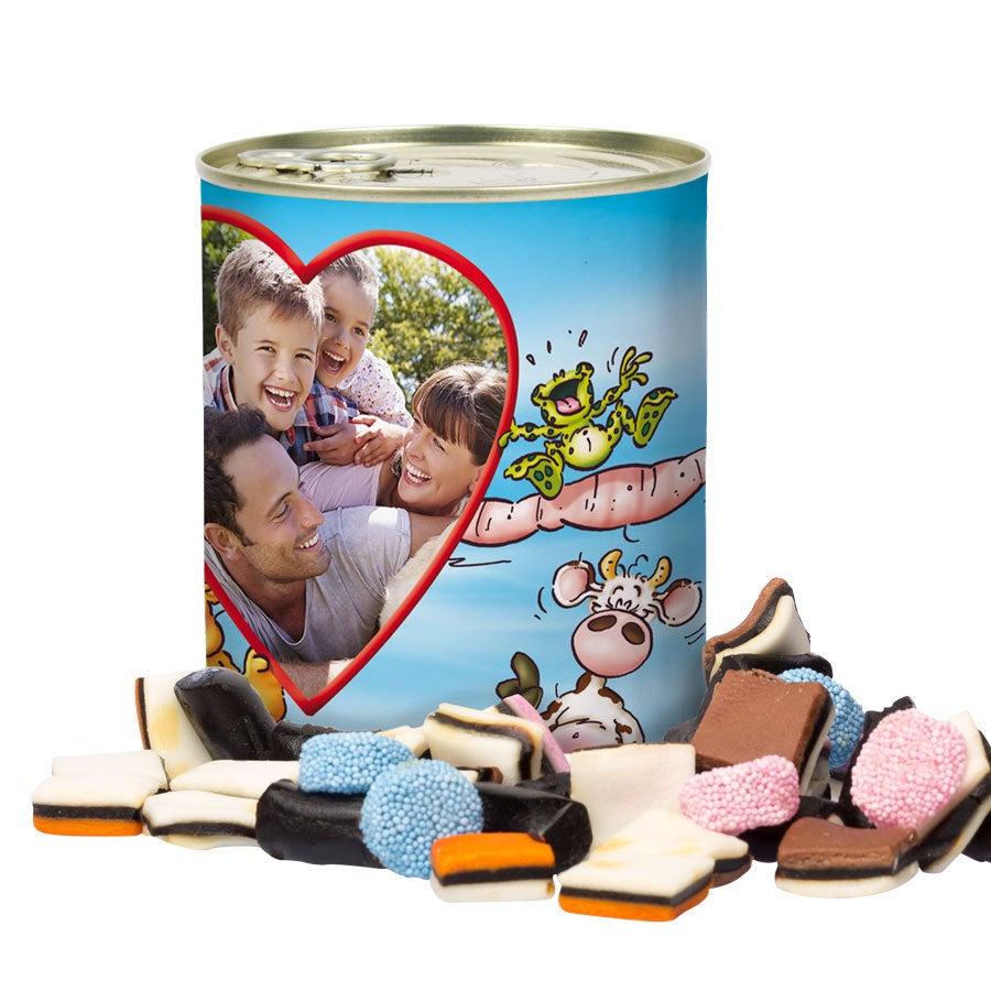 Čmáranice cín sladkostí - holandské lékořice