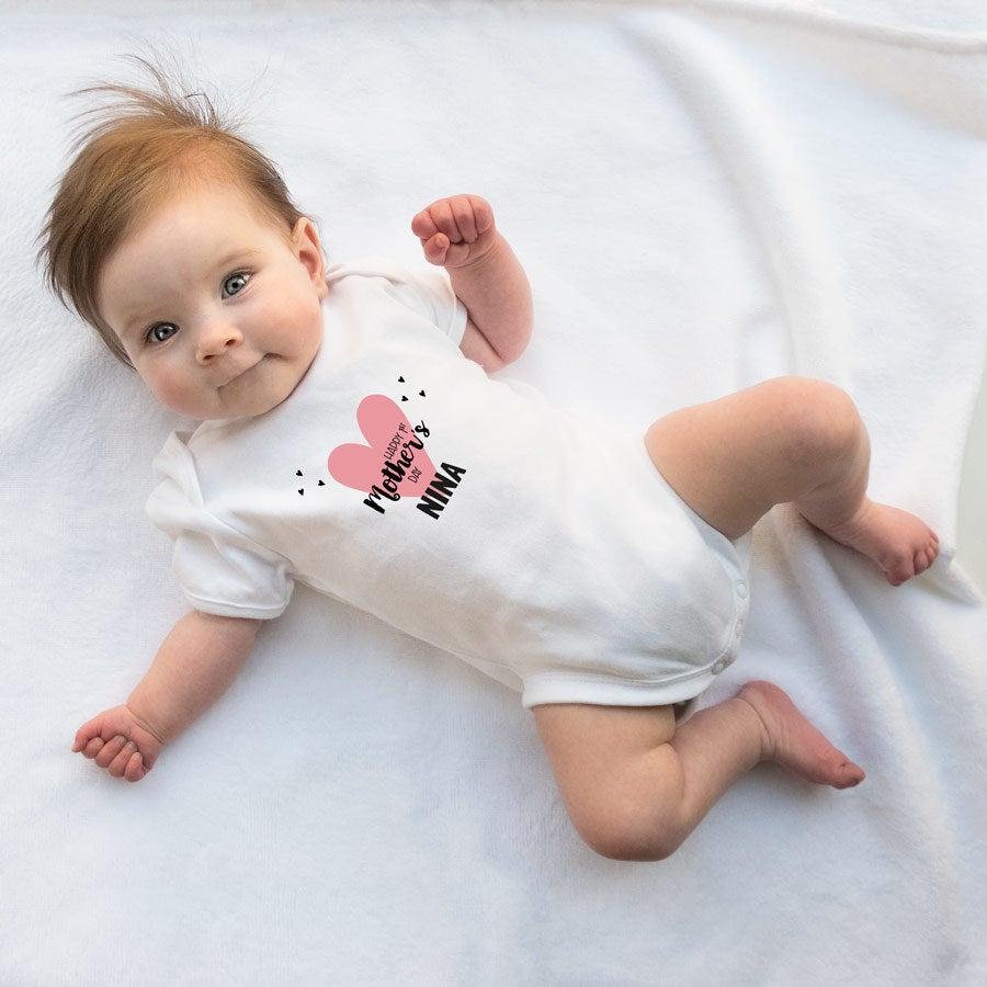 - Baby Body erster Muttertag weiß 62 68 - Onlineshop YourSurprise