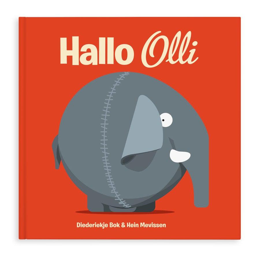 Kinderbuch Elefant - Hallo Olli - Hardcover