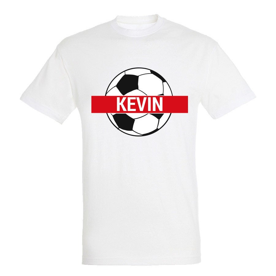 World Cup T-shirt - Unisex - White - S