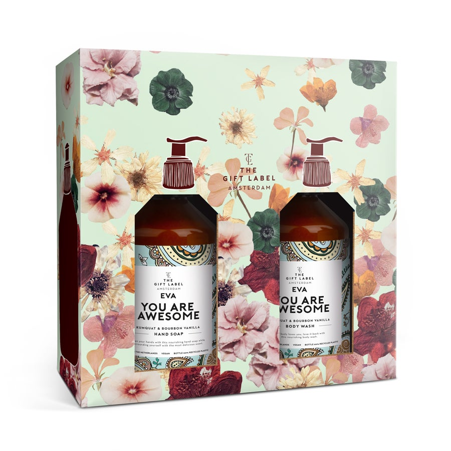 Personalised Your Own Label gift box - Women
