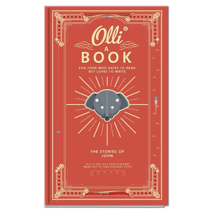 Ollis anteckningsbok (inbunden)