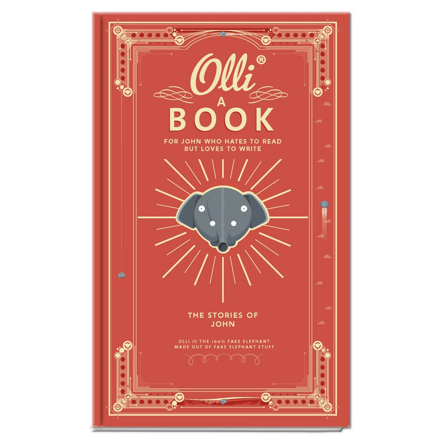 ​Olli's notebook (hardcover)