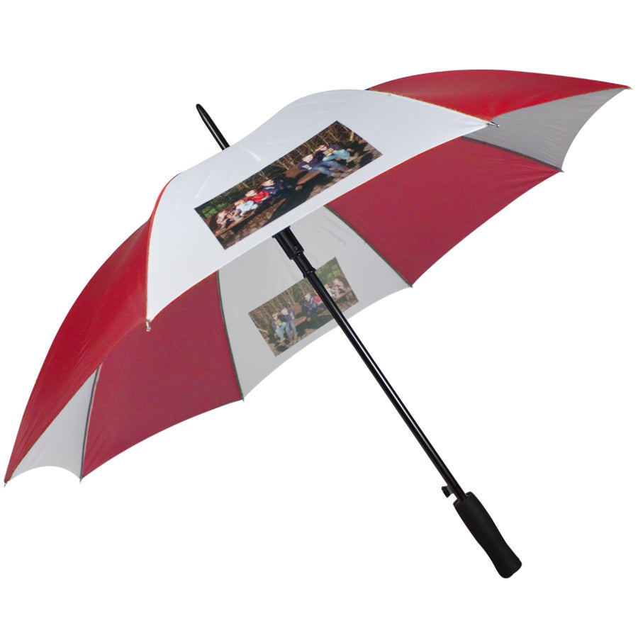 Paraplu - Rood/Wit