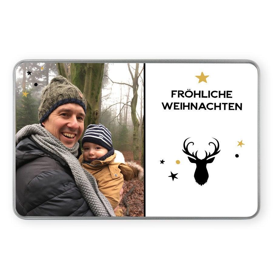 Fotodose Erinnerungen - Weihnachten - Rechteck
