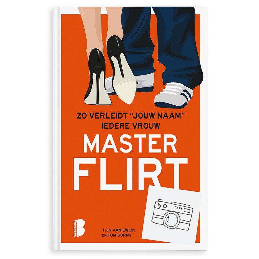 Boek met naam en foto - Masterflirt (Hardcover)