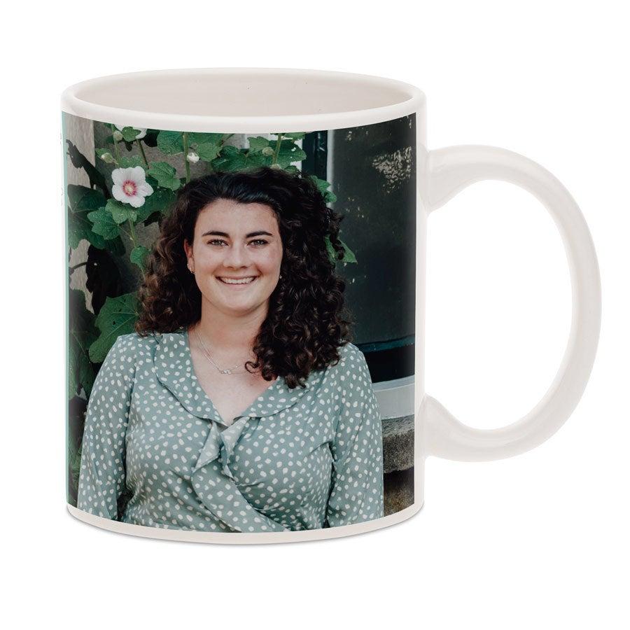Easter mug with photo