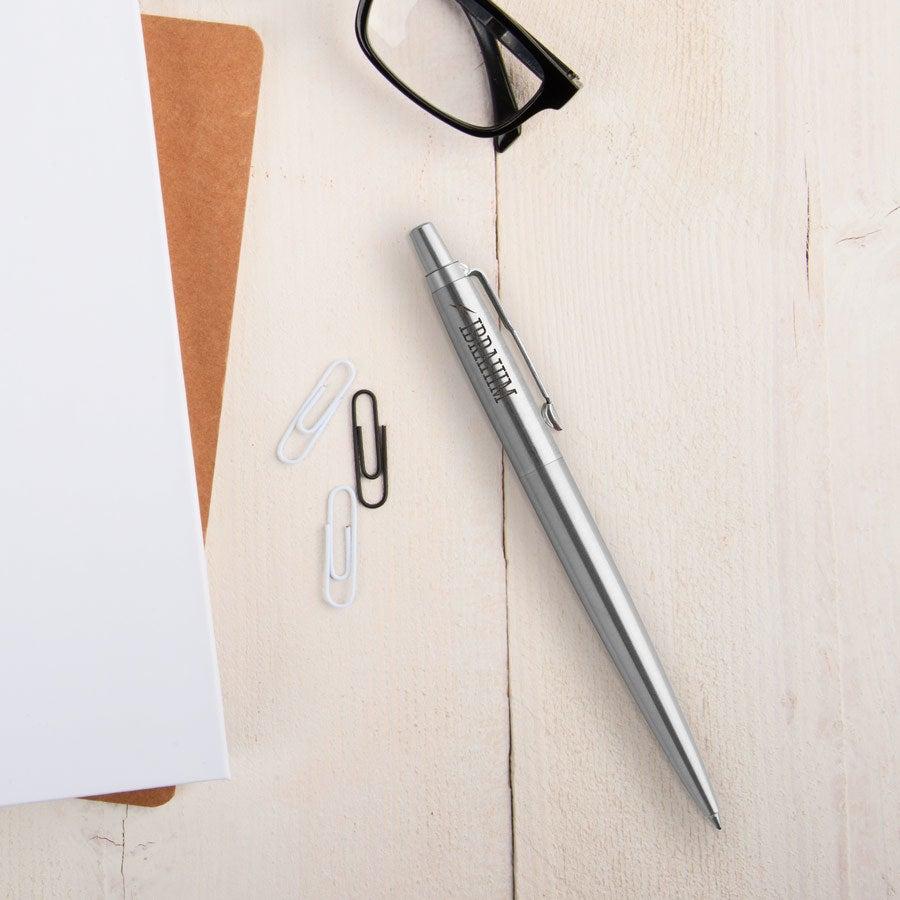Individuellbesonders - Parker Jotter Kugelschreiber Linkshänder (Silberfarben) - Onlineshop YourSurprise