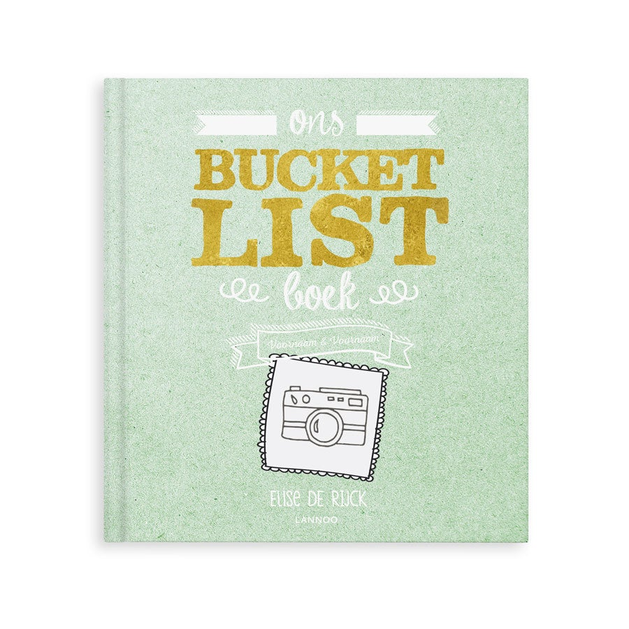 Het Bucketlist boek voor vrienden - Hardcover