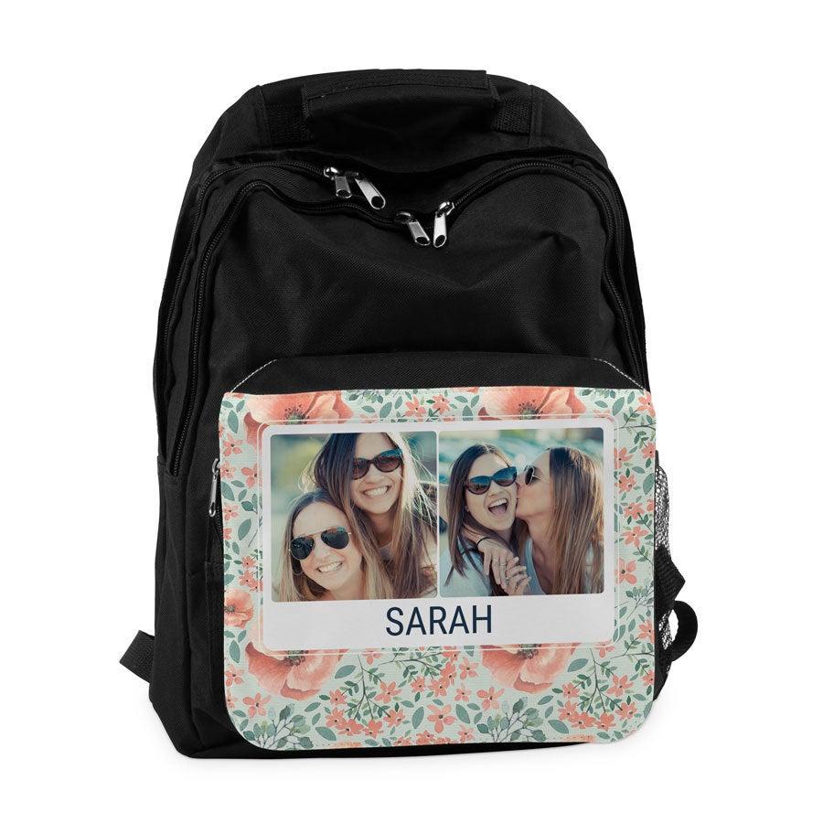 Personalised Backpack - Black