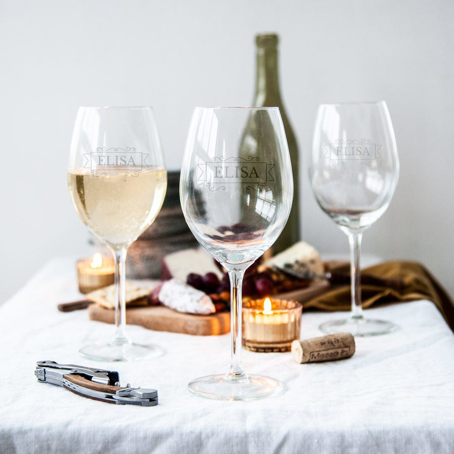 Weißweingläser (4 Stück)