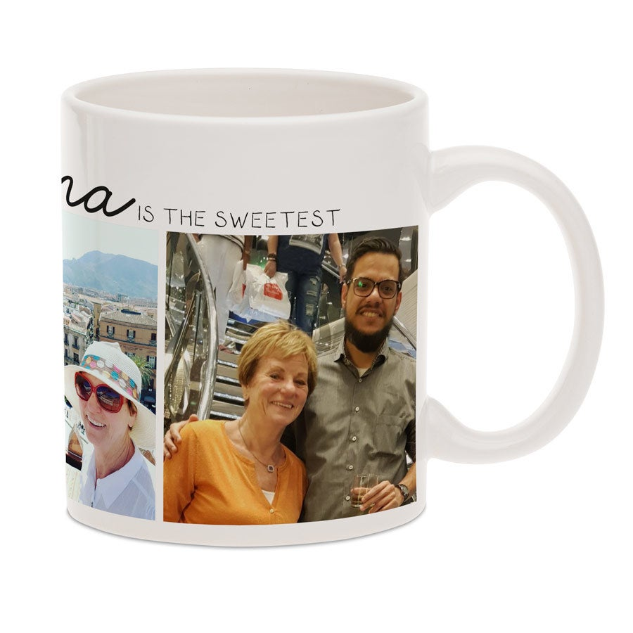 Grandma mug with photo