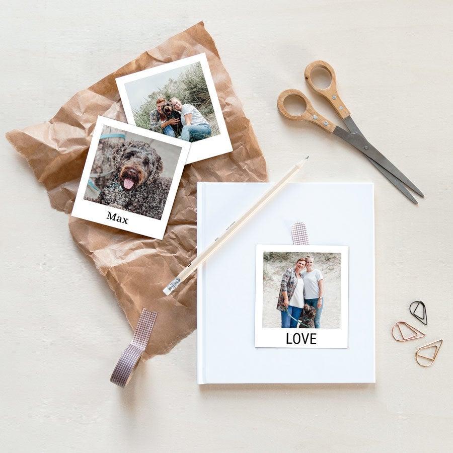 Vytlačená fotografia - Polaroid