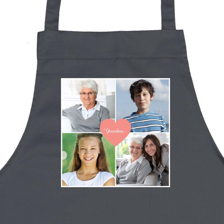 Grandma apron - grey