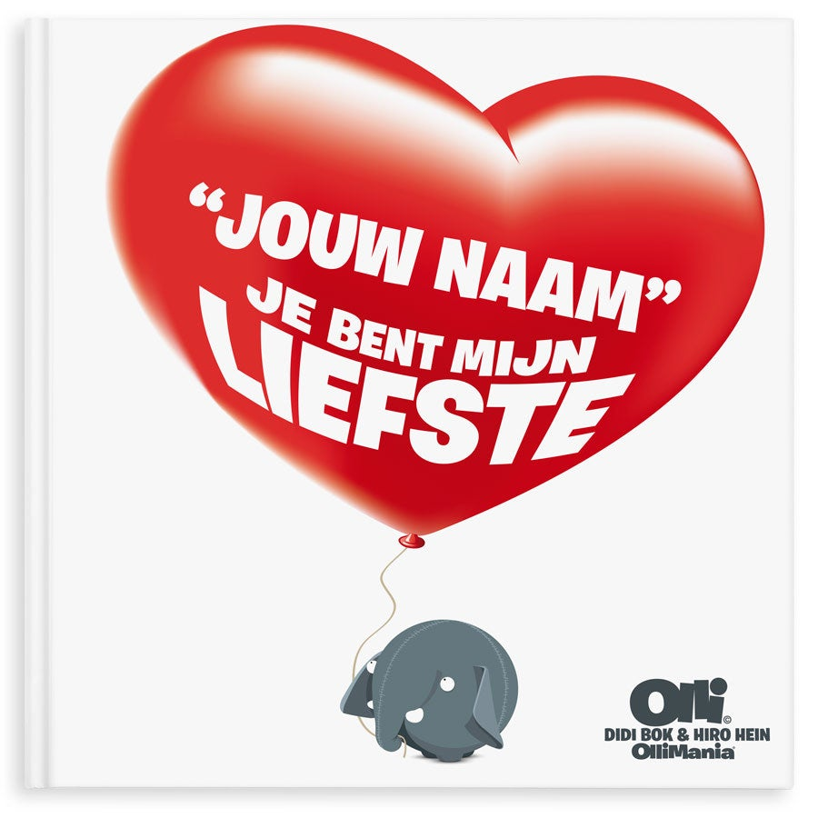 Ollimania - Je bent mijn Valentijn/Liefste XXL (HC)