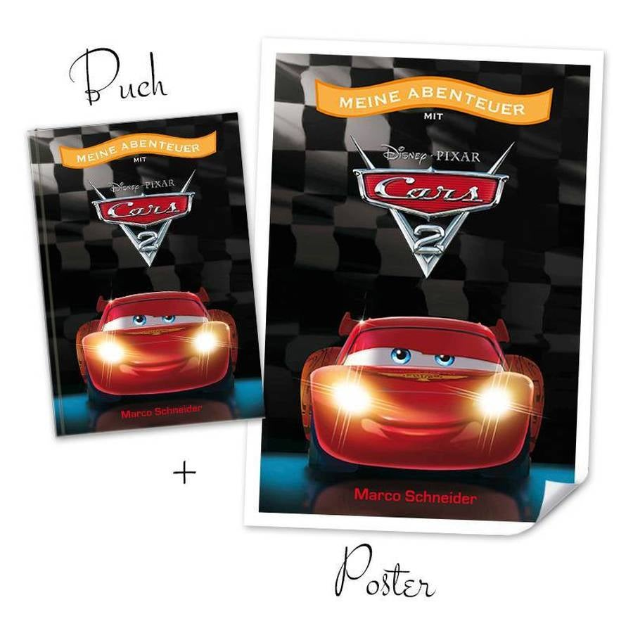 Disney XXL book - Cars 2 + Poster