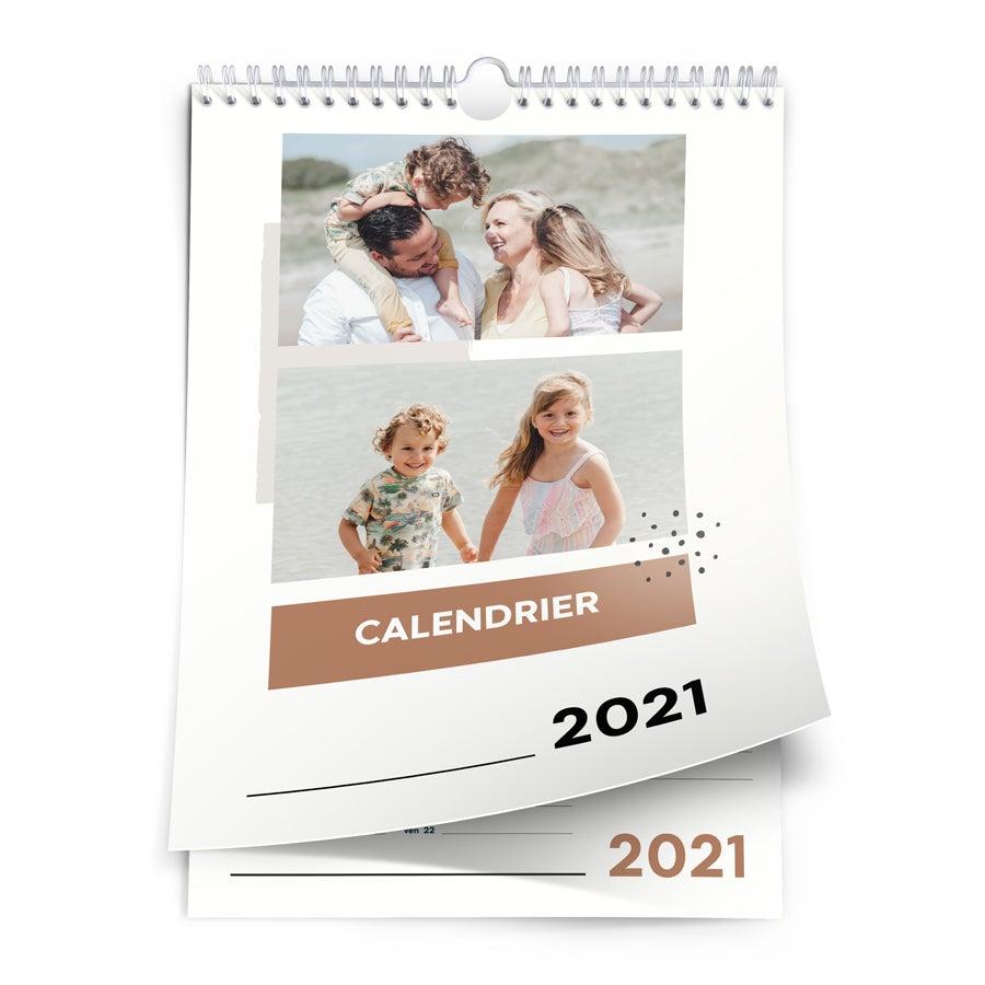 Calendrier 2021 - Portrait A4