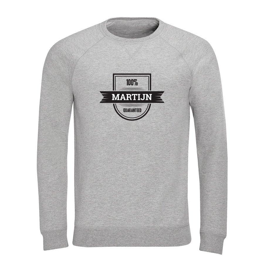 Sweater - Heren - Grijs - S