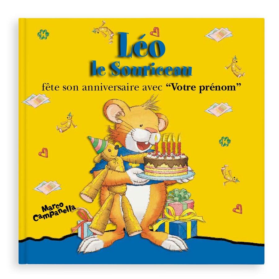 Livre personnalisé - Léo le Souriceau (Couverture rigide)