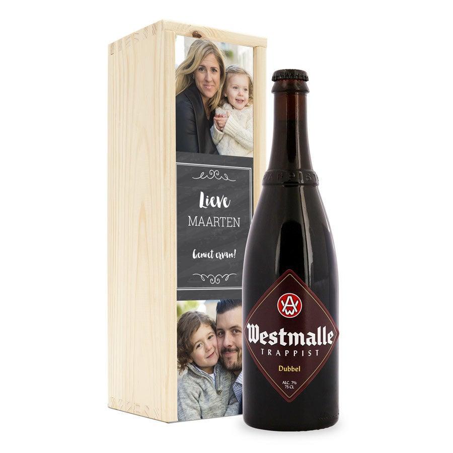 Butelka piwa - Westmalle Dubbel