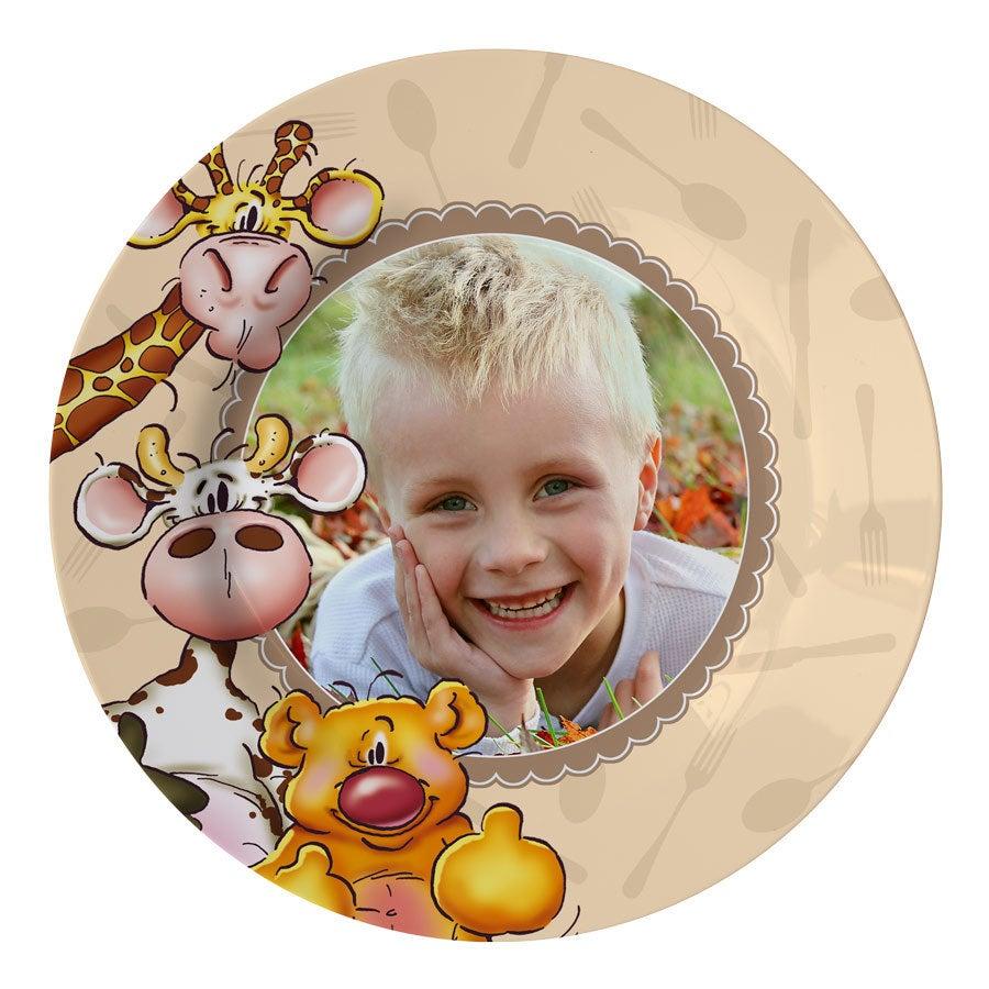 Kinderteller - Doodles
