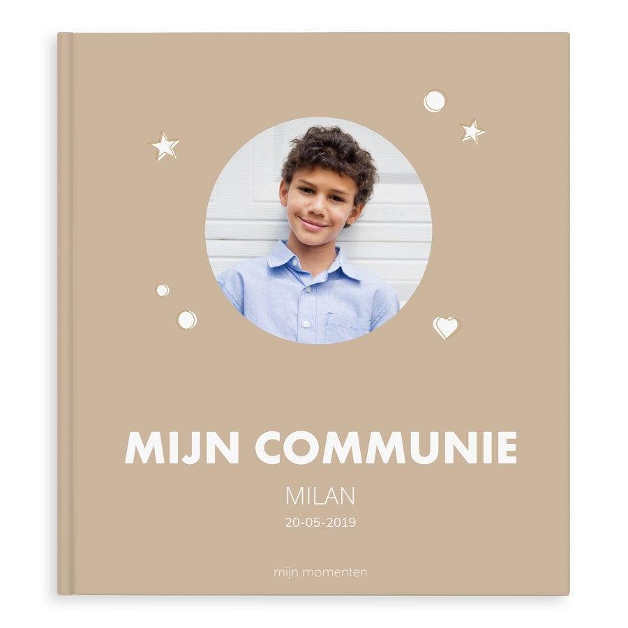 Fotoboek maken - Mijn communie - XL - Hardcover - 40 pagina's