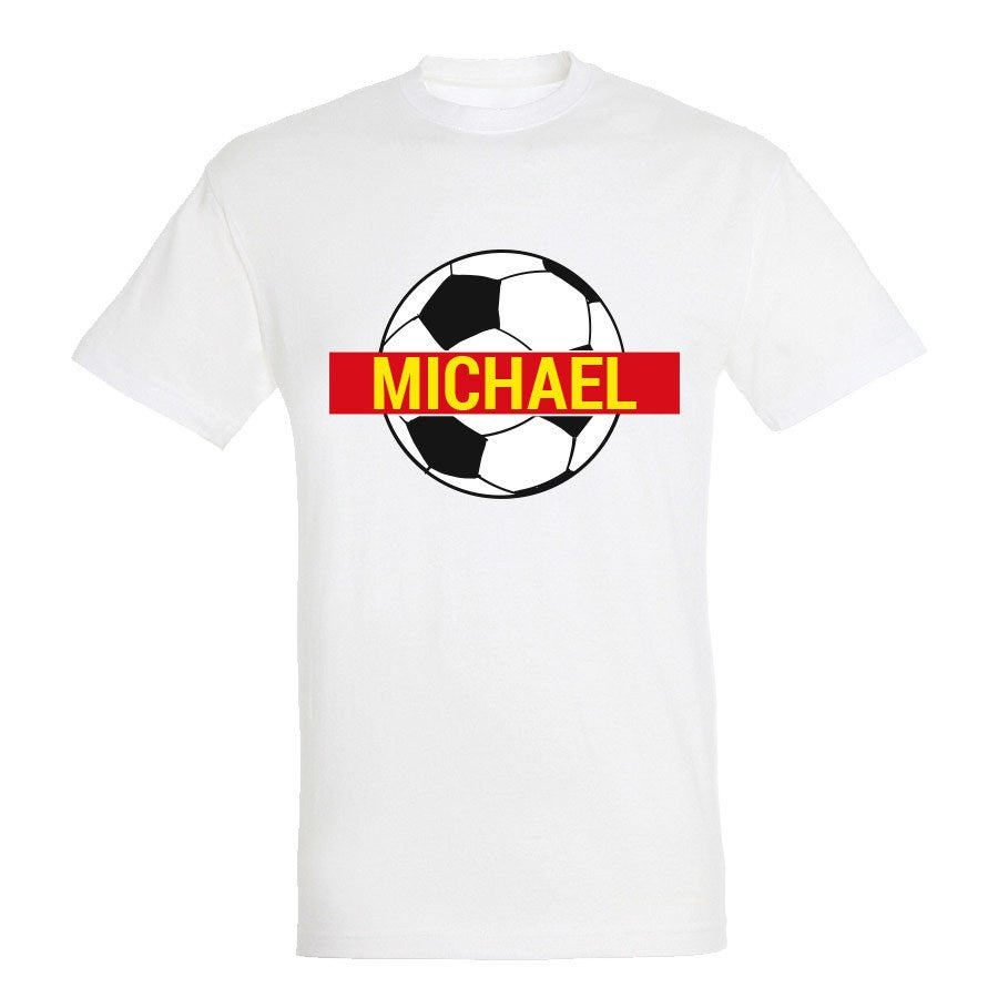 WK T-shirt - Unisex - Wit - S