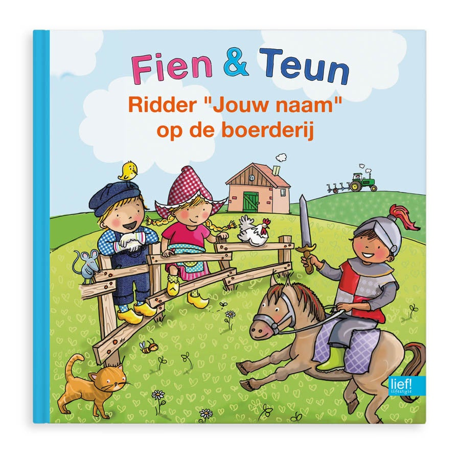 Fien & Teun, Ridder op de boerderij - Hardcover