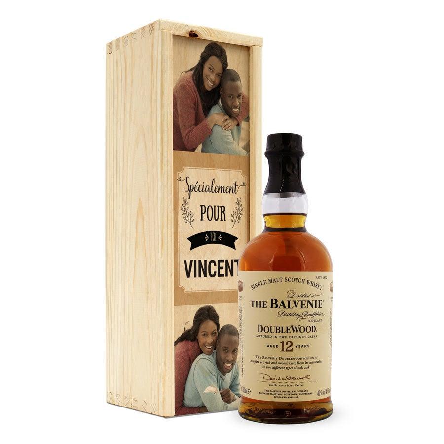 Whisky - The Balvenie - avec coffret personnalisé