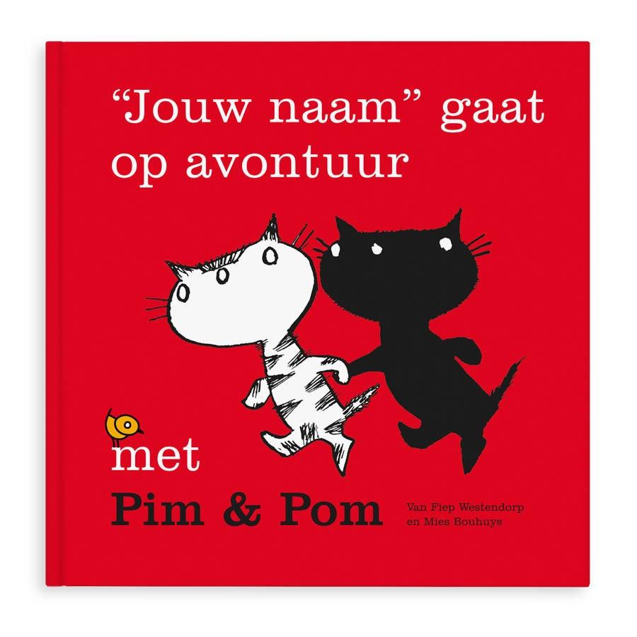 Boek met naam - Op avontuur met Pim & Pom - Hardcover